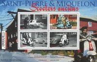 St. Pierre & Miquelon - Scootere - Postfrisk miniark