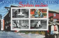 St Pierre & Miquelon - Scooters - Bloc-feuillet neuf