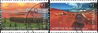 Norfolk Island - Philip Island - Stemplet sæt 2v