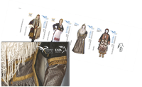 Grèce - Euromed 2019 / Costumes - Carnet neuf