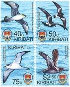 Kiribati - Fugle - Postfrisk sæt 4v
