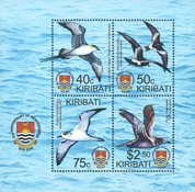 Kiribati - Oiseaux - Bloc-feuillet neuf
