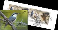 Grèce - EUROPA 2019 Birds # - Carnet obl.