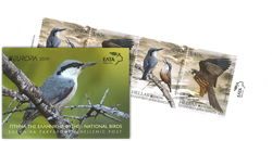 Grèce - EUROPA 2019 Oiseaux - Bloc de carnet neuf