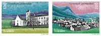 Liechtenstein - Vues de village - Triesen - Série neuve 2v