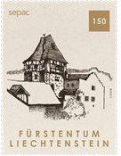 Liechtenstein - SEPAC 2019 / Ancienne maisons - Timbre neuf