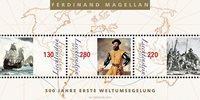 Liechtenstein - Première circumnavigation autour du monde - Bloc-feuillet neuf