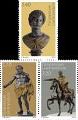 Liechtenstein - Trésors du Prince, Sculptures - Série neuve 3v