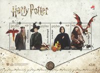 Portugal - Harry Potter - Bloc-feuillet neuf