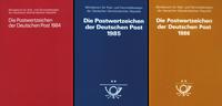 Allemagne de l'Est - 3 collections annuelles 1984-85-86