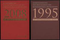 Allemagne - 2 livres annuels avec des timbres oblitérés