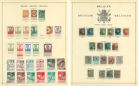 Belgique - Collection - 1849-1935
