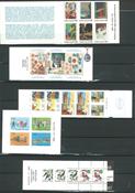 Finland - 5 frimærkehæfter