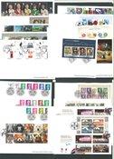 Grande-Bretagne - 75 timbres avec des oblitérations de haute qualité