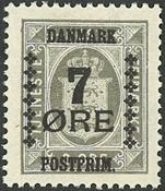 Danemark - Typographie - AFA 161