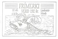 Island - AFA 683-86 - Stemplet hæfte
