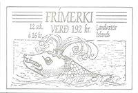 Island - AFA 683-86 - Postfrisk hæfte