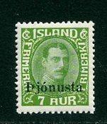 Island - AFA TJ63 - Postfrisk