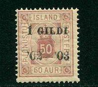 Island - AFA TJ16 - Postfrisk