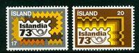 Island - AFA 483-484 - Postfrisk