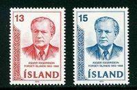 Island - AFA 481-482 - Postfrisk