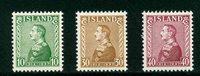 Island - AFA 187-189 - Postfrisk