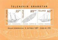 Island - AFA 861-63 - Postfrisk miniark