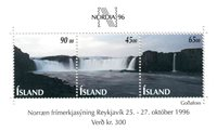 Island - AFA 841-43 - Postfrisk miniark