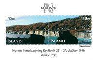 Island - AFA 820-21 - Postfrisk miniark