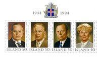 Island - AFA 798 - Postfrisk miniark