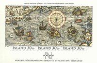 Island - AFA 706 - Postfrisk miniark