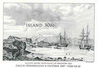 Island - AFA 671 - Postfrisk miniark