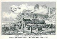 Island - AFA 692 - Postfrisk miniark