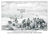 Island - AFA 659 - Postfrisk miniark