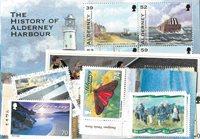 Guernesey, Aurigny - Paquet de timbres - Neuf