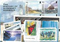 Guernsey, Alderney - Frimærkepakke - Postfrisk