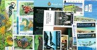Alderney, Jersey, Gibraltar - Frimærkepakke - Postfrisk