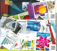 Luxembourg - Frimærkepakke - Postfrisk