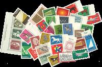 Vesttyskland - årgang 1969 - Postfrisk inclusive Miniark