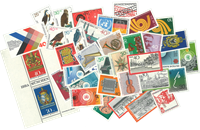 Vesttyskland - årgang 1973 - Postfrisk inclusive Miniark