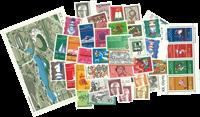 Vesttyskland - årgang 1972 - Postfrisk inclusive Miniark