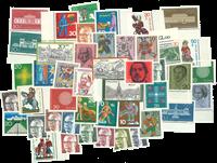 Vesttyskland - årgang 1970 - Postfrisk