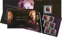 Île de Man - Relativity / Albert Einst PBK - Prestige booklet #