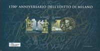 San Marino - 1700-års jubilæum - Postfrisk miniark