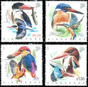Singapore - Kingfishers * - Postfrisk sæt
