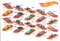 USA - Hot Wheels SHL - Ark postfrisk op til 20 mrk