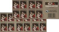 USA - Bachiacca Madonna + Child * - Postfrisk hæfte