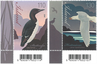 Islande - Oiseaux 2009 - Série neuve 2v