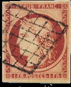Frankrig 1849 -  YT 6 - Stemplet