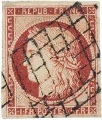 France - 1849 -  YT 6 - Oblitéré